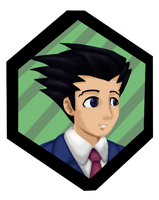 Phoenix Wright by AuraLight