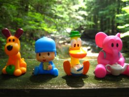 Pocoyo and Friends: River Rail by joshmb509