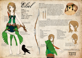 Eliel - Char.sheet v2 by Dragounette