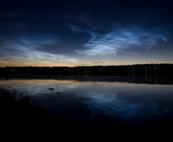 Noctilucent Clouds 2 by juhku