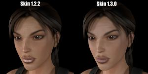 Skin comparsion XPS model by Hiddenus