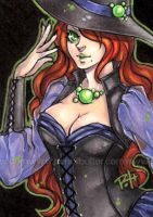 aceo - bewitched by demon-rae