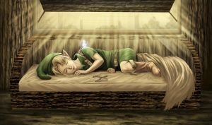 young link dreaming by ZaloHero