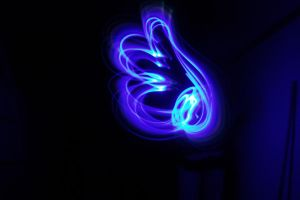 Lightpainting - Wing by Zeiphex
