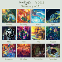 Art Summary 2012  by Srarlight