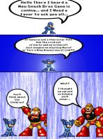 Add Rockman in SSB4 by Rokku-D