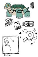 Tron Bonne Mech Idea 2 by rongs1234