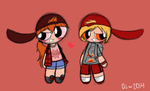 Pyro and Brash Sublooks by QuietLullabies