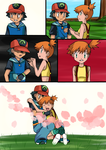 Pokemon Fusion Sidestory Scene: Distant Love by hikariangelove