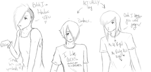 Boredom does things to a person. xD by Fang-Chan13