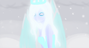 Ice girl by InanisKisa