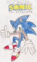 Sonic: Back in mah gallery by cooperthehedgehog