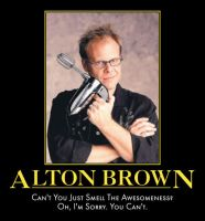 Alton Brown: Culinary Genius by Werelover969