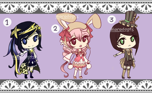 (AUCTION-CLOSED) Random Adopts Set 1 by Hianadopts