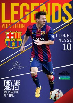 Legends: Messi by thesarim1