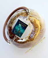 Percy Jackson Leather Cord Bracelet by maryfaithpeace