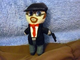 Plushie Nostalgia Critic by Pinka-Starlight