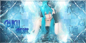 Miku Hatsune Signature (Cosplayer ver.) by KiiitXD