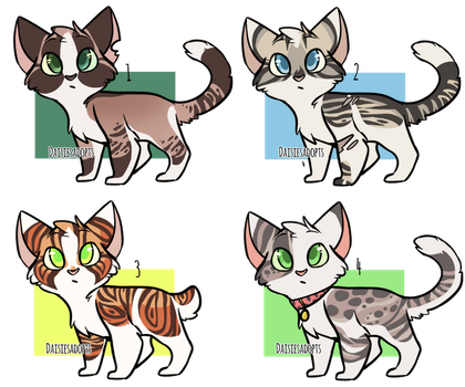 Setprice OR Group | Cat Adoptables | CLOSED by DaisiesAdopts