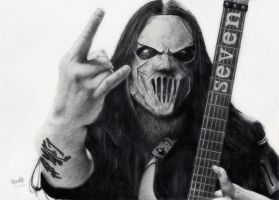 Mick Thomson by IceSpectre