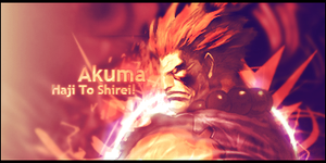 Akuma Signature by murr3