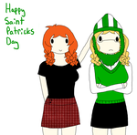 Happy Saint Patricks Day by ask-Fem--England