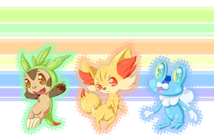 New Starters by LizardBat