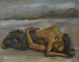 Lovers in an autumn afternoon by silvio-feitosa