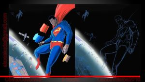 Superman never finished by lesswanted