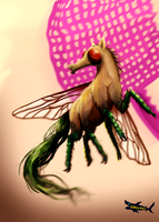Horsefly + SPEEDPAINT VIDEO by canned-sardines