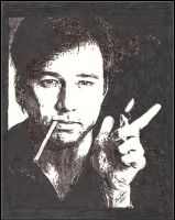 Bill Hicks - ink by breadzilla