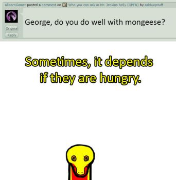 George: Mongeese by askhuqstuff