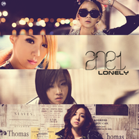 2NE1 - Lonely by strdusts