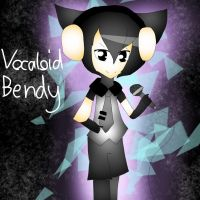 [bendy and the ink machine] vocaloid bendy by Azumii-irene