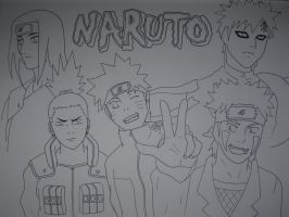 naruto characters by Than1Ducis