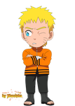 Chibi Naruto Hokage The Last by Marcinha20
