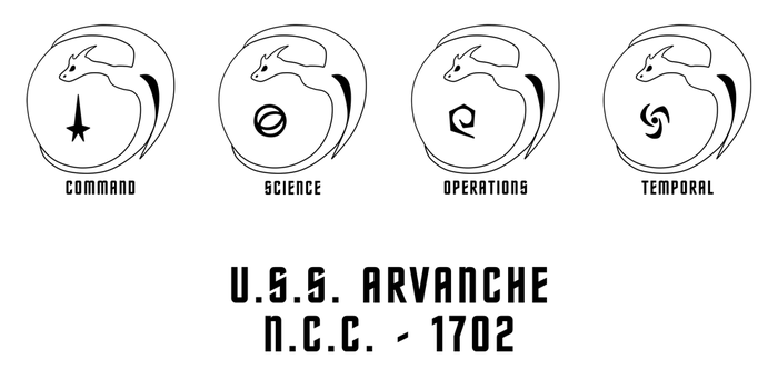 Star Trek - Arvanche Mission Patch by hunterbahamut
