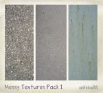 Messy Textures Pack 1 by ashzstock