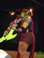 Magthera at Blizzcon pic 2 by DEATHlikescats