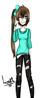 New Oc - Lissette by MidoriKuro-chan10
