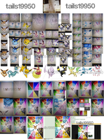 PLEASE READ DESCRIPTION! Eevee Poster Process by Tails19950