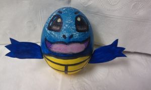 Squirtle Easter Egg! by KRSkreations