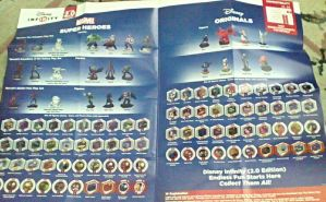 Discs and Figures Collector's list  by bvw1979