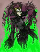 Steampunk Maleficent by MysticReflections