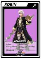 SSB4 Robin Card by GameAndWill