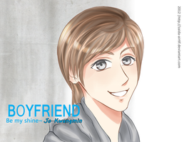Kwangmin-be my shine by Zaida-Airtif