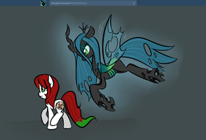 Chrysalis is following you by TheSassyJessy