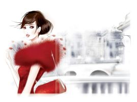 fashion illustration 7 by BreeLeman