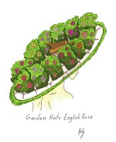 Garden Hats: English Rose by Allison-beriyani