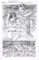 Arrow of Destiny pg 11 pencils by MAW-Productions